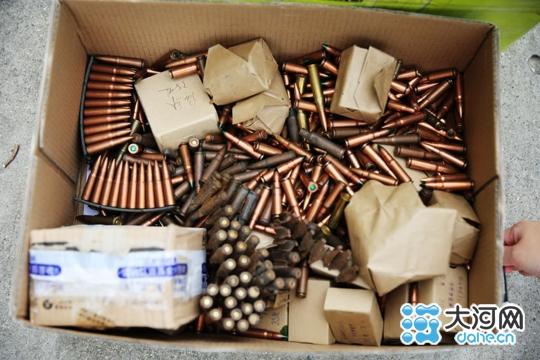 漯河成功销毁万余发废旧子弹和15枚废旧炮弹