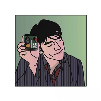 林木村 每天画张小头像,你能认出几个?