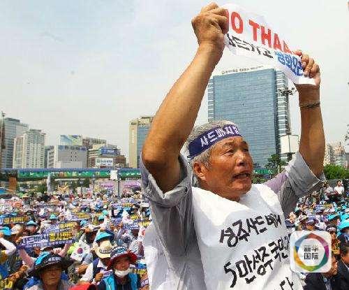 不顾东北亚可能陷入动荡和冲突的严重后果,强行加快部署
