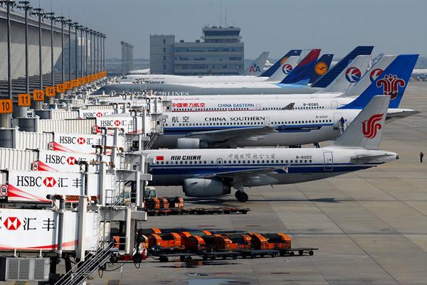 图说:上海浦东国际机场.网络图