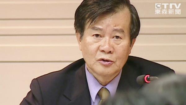 江春男。(图片来源:台湾东森新闻云)