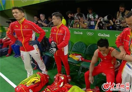 【塞萨尔老婆】总分271.122 中国男子体操队团体决赛获铜牌