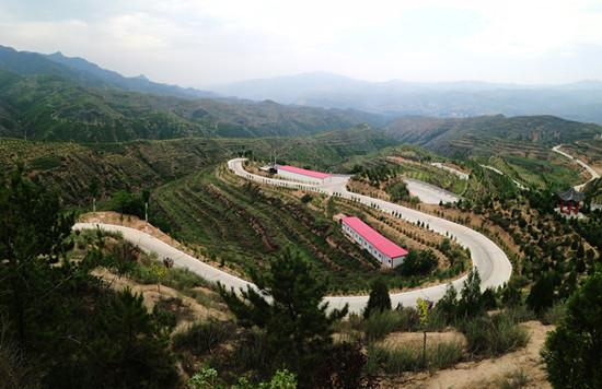 娄烦县生态经济园区(图片来源:山西省林业厅)