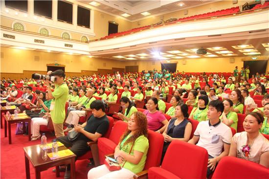 第十六届PHE国际青少年书画大会美育盛典现场。