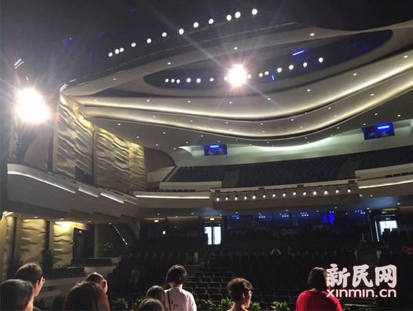图说:上海国际舞蹈中心金秋就要对外开放。新民晚报记者 朱渊 摄