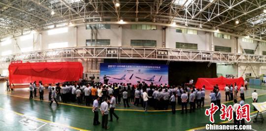 中航工业成飞民机首批新型波音飞机方向舵交付