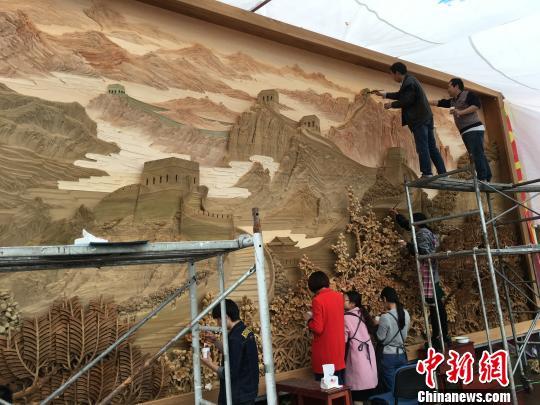 在浙江省东阳市中国木雕城举办.
