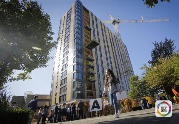 大楼将用作大学生宿舍,现时正进行内部装修工程,预计首批400学生会在图片