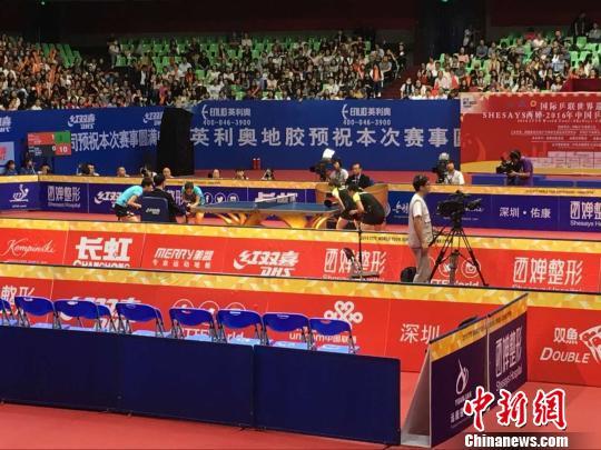 2016中国乒乓球公开赛:陈梦、朱雨玲获女子双打冠军_凤凰资讯