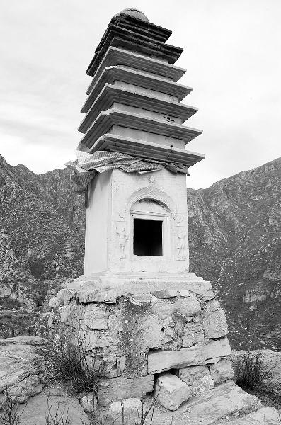 是北京现存的八座唐代佛塔之一