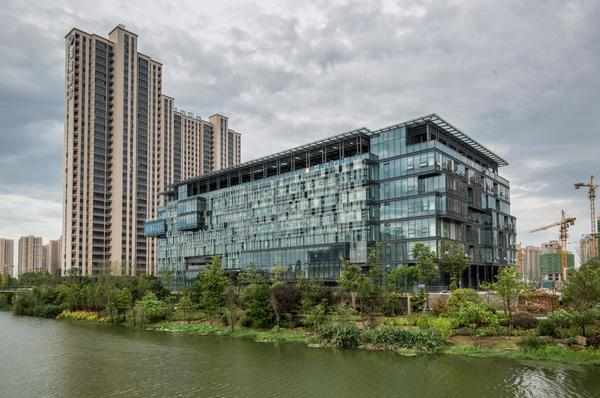 大设计 新生态丨湖南省建筑设计院总部新址升