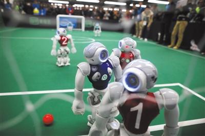 机器人 奥运会 昨起上演 六大挑战赛成亮点