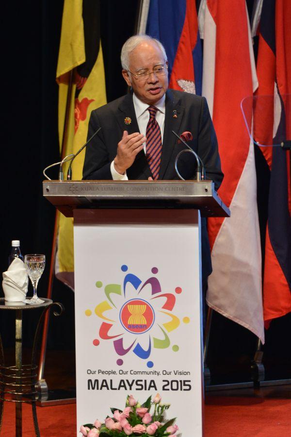 资料图:马来西亚总理纳吉布。新华社发