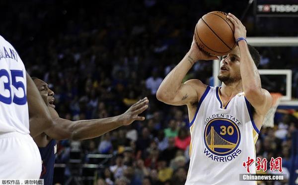 13个3分!库里刷新NBA三分球单场纪录