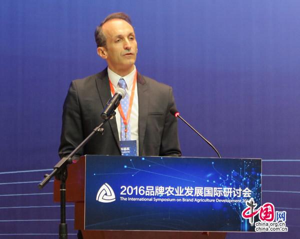 联合国粮农组织驻中国和朝鲜代表马文森博士致辞