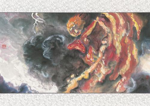 《海洋奇缘》爆笑走心 发中国风水墨海报另类风情