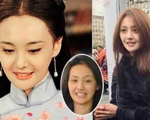 最丑明星素颜照,郑爽上榜