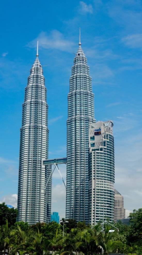 双子塔被外界看作吉隆坡的地标建筑