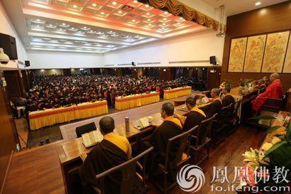 1千5百多人齐聚在厦门鸿山寺诵地藏经