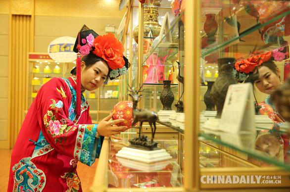 """颐和园官方淘宝店上线 取名""""颐和园皇家买卖街"""""""