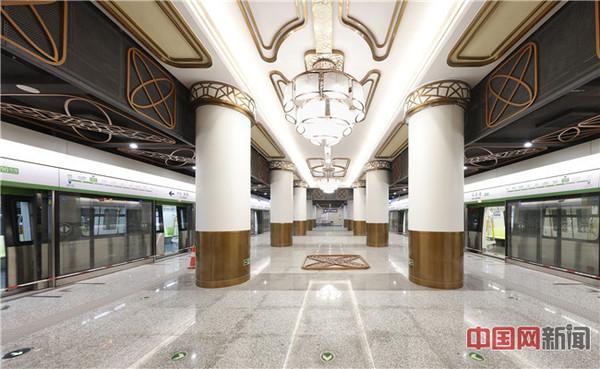 北京地铁16号线马连洼站装饰装修及照明系统 齐慧敏摄影