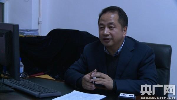 吉林省商务厅市场体系建设处处长梁永才接受记者专访图片