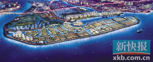 海口·新埠岛·4600亩滨海岛屿城市别墅群