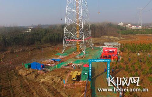 昌吉-古泉±1100千伏特高压直流输电线路