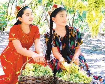 维吾尔族姑娘