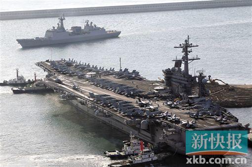 美军准备派航母编队驶近中国南海岛礁