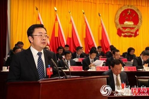 区人民检察院张春宜检察长作李沧区人民检察院工作报告.