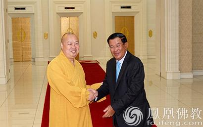 """柬埔寨首相洪森:我算是海南的""""女婿"""""""