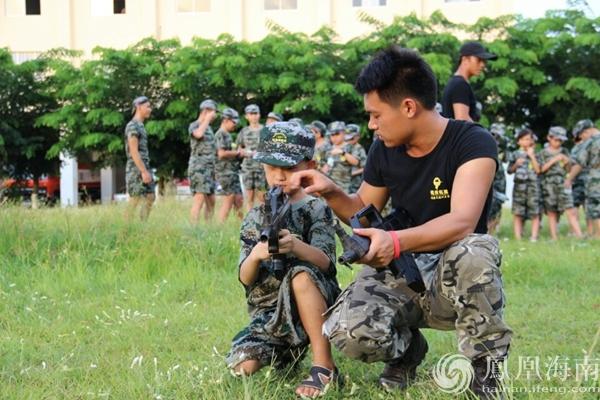 铭投军事夏令营将亮相海南高创会 让创新教育