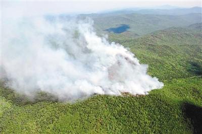 内蒙古大兴安岭 发生森林火灾