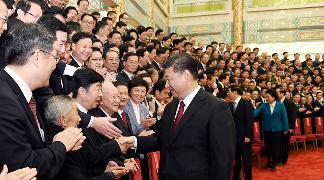 习近平会见全国道德模范代表引发强烈反响