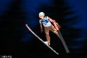 请跳台滑雪