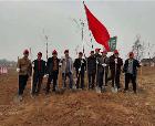 光山县食品药品监督管理局开展冬季义务植树活动