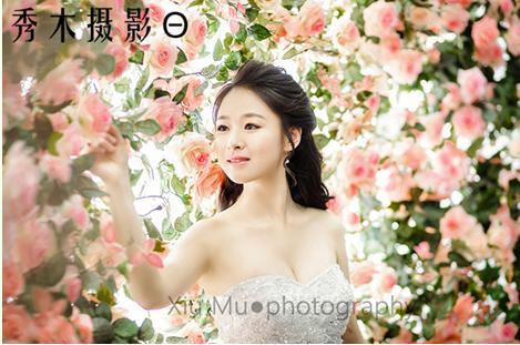 """郑州摄影工作室拍婚纱照哪家好""""秀木婚纱摄影""""母校的"""
