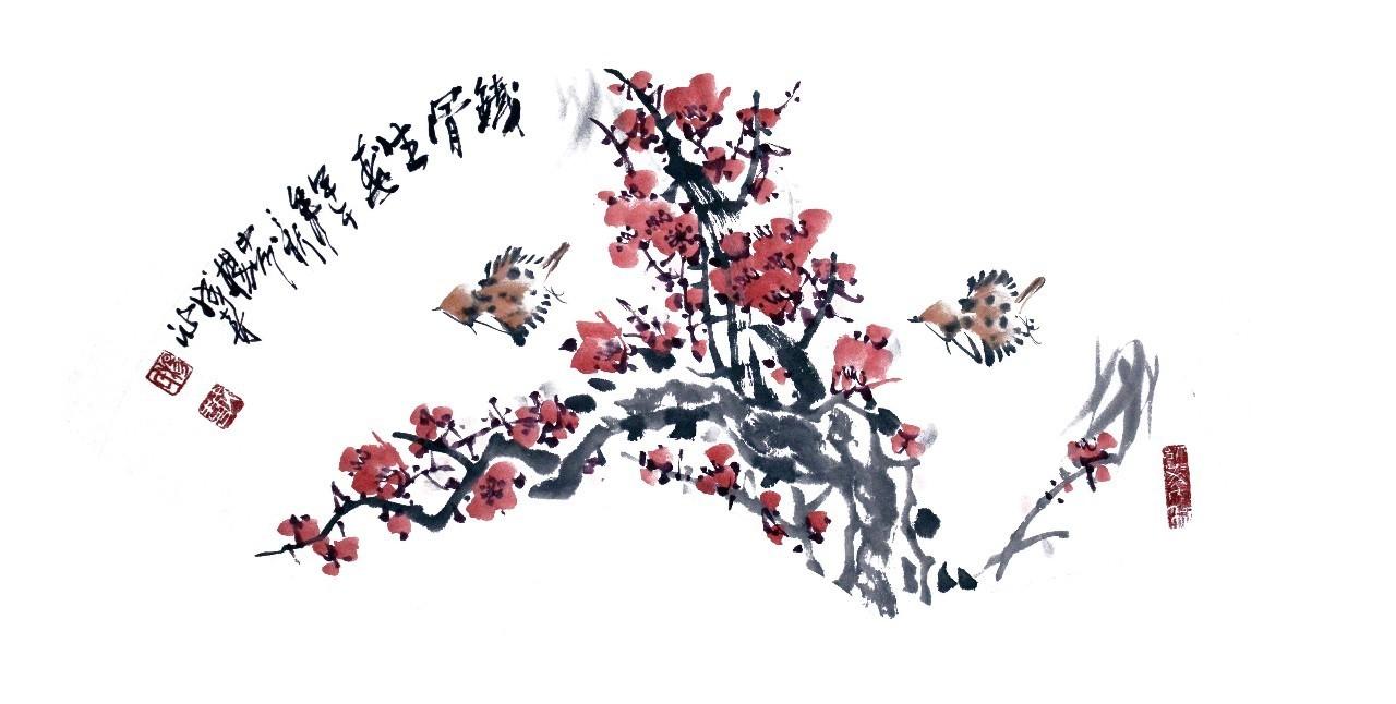 国一金典签约画家杨成喜作品