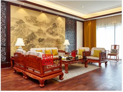 北京产业创意设计国际v产业在泓文博雅艺术馆室内设计梁梦图片