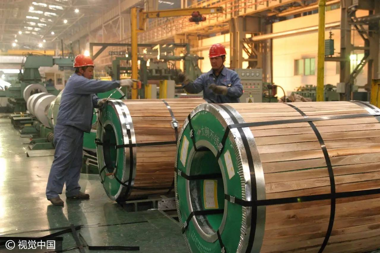 中国 笔头/太钢不锈生产车间。