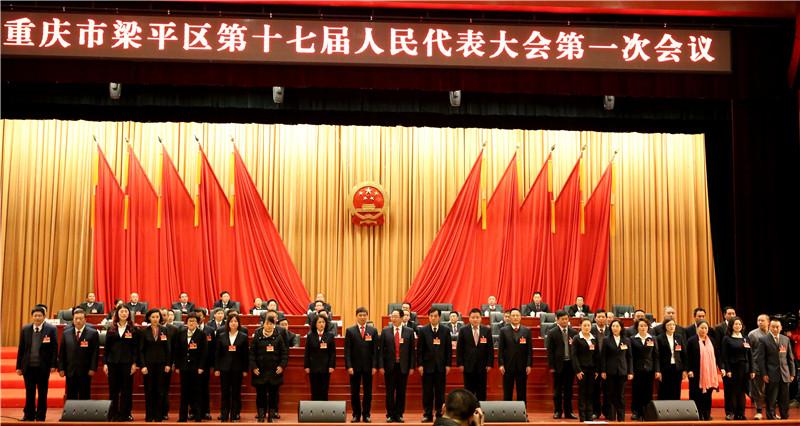 区人大常委会主任、副主任、委员和各专门委员会组成人员亮相.JPG