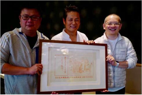 台湾最著名综艺节目主持人之一徐乃麟收藏《西厢窥简图》3