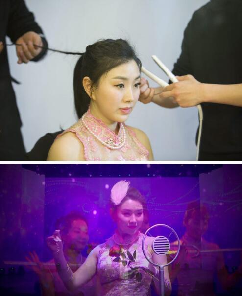 肖洋 舞女泪 无奈的思绪 MV获好评 复古性感范儿十足