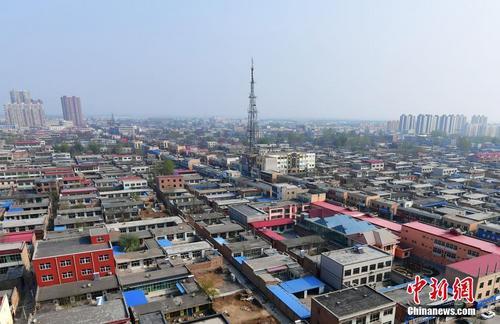 4月5日,从高空俯瞰河北容城。 <a target='_blank' href='http://www.chinanews.com/'></p><p>中新社记者翟羽佳摄