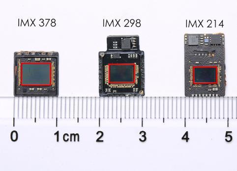 IMX378和其他型号面积大小对比(图片引自中国经济网)