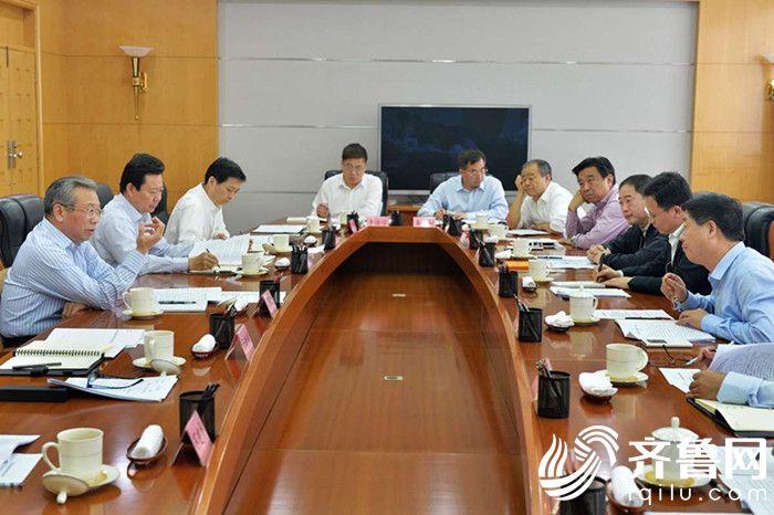 刘家义主持召开企业负责同志座谈会(4)_副本