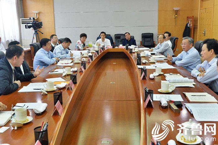 刘家义主持召开企业负责同志座谈会(3)_副本