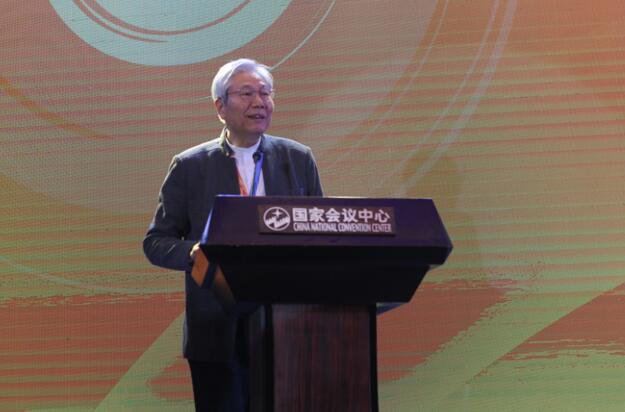 中国音协流行音乐学会主席、中国民营演出联盟主席付林致辞.jpg