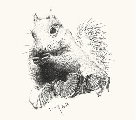 著名画家韩斌钢笔画《动物》作品欣赏 东方艺术天地报道